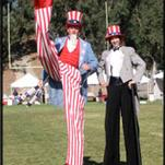 Have Uncle Sam at your patriotic party