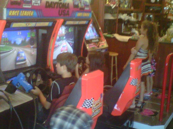 Video Arcade Party by CelebrityPartyPlanner.com