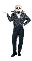 Halloween Jack Skellington Costume Character